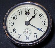 Chelsea Ships Thermostat Clock With Day Night Indicator , ca 1908, Running Well