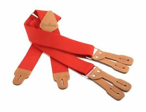 Carhartt Men's Dungaree Suspender Red One Size