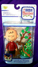 New! Charlie Brown with Cap, Tree and Snowcape Base