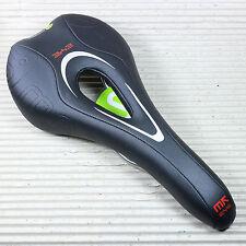 SATTEL Smanie MK Pro Eye - schwarz grün - 279×130 mm - Titangestell - 205 Gramm