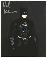 Hand Signed 8x10  photo VAL KILMER as BATMAN in BATMAN FOREVER + COA