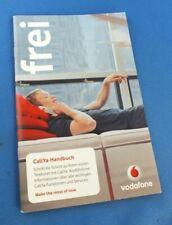 ORIGINALE Vodafone callya libro catalogo PROMO BROCHURE Book Deutsh foglio info