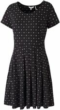 Round Neck Geometric Midi Plus Size Dresses for Women