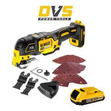 DeWalt DCS356N 18V XR Cordless Brushless 3 Speed Oscillating Multi Tool 2Ah