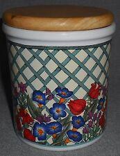 Dansk NORDIC GARDEN Storage Jar w/Wooden Lid