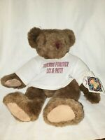 "The Vermont Teddy Bear Company 20"" Jointed Plush Stuffed Teddy Bear 1992"