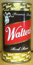 WALTER'S BOCK BEER ss CAN with GOAT, Eau Claire, WISCONSIN 1+