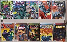 Detective Comics #646 649 650 651 656 657 659 660 661 662 - ALL NM - CGC READY