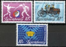 Luxembourg 1985, Annual Events set VF MNH, Mi 1121-1123