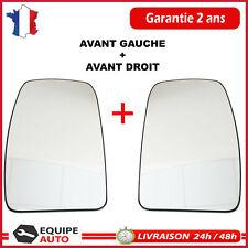 MIROIR glace de rétroviseur DROIT + GAUCHE Master 3 NV400 Movano B 963655132R