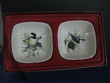 Lenox Winter Greetings Chickadee 6 Oz. Dipping Square Bowls