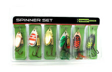 Spinner Set Green Concept v Jenzi, Hecht, Barsch, Zander, Angel, Raubfisch, Bait