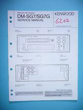 Service Manual-Anleitung für Kenwood DM-SG7 ,ORIGINAL