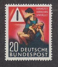 Germany Sc 694 MNH. 1953 20pf Prevent Traffic Accidents
