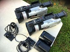 Two Videoc�Mara Mini Dv Canon Dm-Gl2A +Baterry + 2 Charger