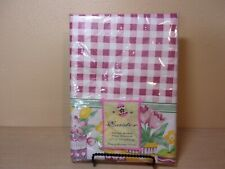 New listing New In Package Vintage Easter Flannel Backed Vinyl Table Cloth 52 X 70