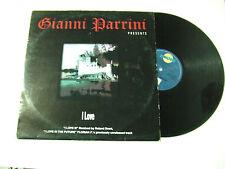 """Gianni Parrini – I Love - Disco Mix 12"""" 33 Giri Vinile ITALIA 1996 Progressive"""