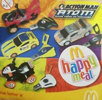 McDonalds Happy Meal Toy 2006 UK Action Man Plastic Vehicle Toys - Various