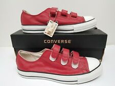 Converes Ct As 3 Strap Red Size 7.5 Uk Eur 41
