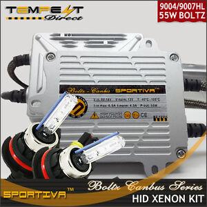 9004 HB1 Bi Xenon AC CANBUS 55W Boltz Series HID Conversion Kit w Error Decoder