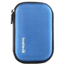 Inateck Universal Festplattentasche für 2,5 Zoll [Erschütterungsfest], Blau