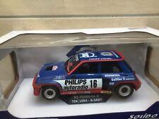 1:18 Solido 1801301 Renault 5 Turbo Gr. B TDC 1984  B. Saby Neu OVP Limited Rar
