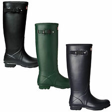 Buckle Flat (less than 0.5') Wellington Boots for Women