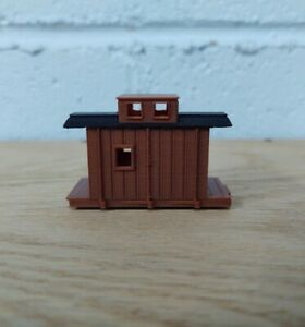 HOn30 14ft CENTER CUPOLA CABOOSE kit. No trucks/couplers. OXIDE RED 3D Print NEW