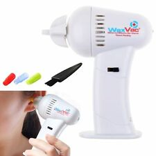 LED Electric Ear Wax Remover Vacuum Cleaner Painless Cordless Safety Ear Pick