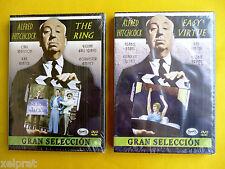THE RING - EASY VIRTUE / Vida alegre - Alfred Hitchcock - Precintadas