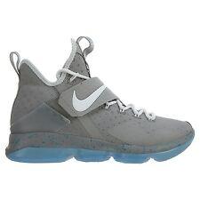 Nike Lebron 14 XIV MAG Mens 852405-005 Matte Silver White Glow Shoes Size 10