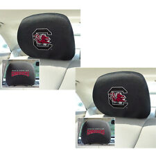 4ef85fd626086 2pc NCAA South Carolina Gamecocks Automotive Gear Car Truck Headrest Covers  Set