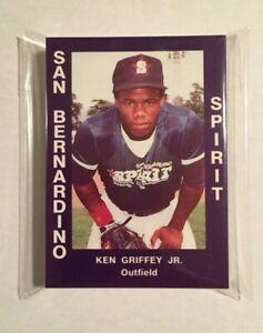 1988 San Bernardino Spirit Minor League Set w/ KEN GRIFFEY JR. Rookie- #V021021D