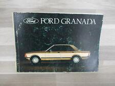 Handleiding Ford Granada van 1979 - nederlandstalig
