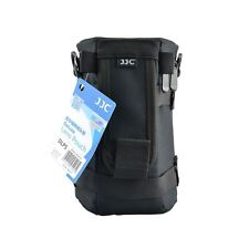 JJC DLP-5 Waterproof Deluxe Lens Pouch with Strap - Inner Dimension 120 x 220mm