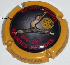 Capsule de Champagne: New !!! HERBERT DIDIER , Rotary Club Roanne 2017, 1000ex !