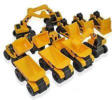 CAT Caterpillar Construction Toys Mini Machine set of 12 Dump trucks tractors