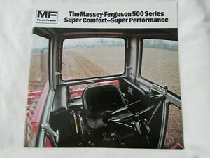 "@Massey Ferguson 500 Series Tractor ""Super Comfort-Super Performance"" Brochure@"