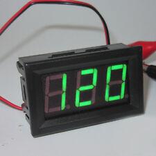 AC70V-500V Digital Voltmeter LED Display Panel 2 Wire Volt Voltage Test Meter