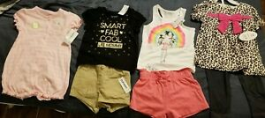 LOT of BRAND NEW 4 ADORABLE size 18-24 mons outfits (7 pieces) ,
