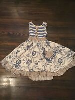 Mustard Pie EUC  Gorgeous Girl's Ruffle Dress Size 3T