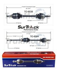 For Toyota Camry Solara 2.2L L4 92-01 FWD 2 Front CV Axle Shafts SurTrack Set