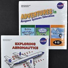 NASA Space 2 CD Rom Lot K-12 Educational Mac/Pc Quicktime PDF Aeronautics New