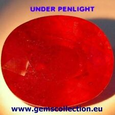 AAA RUBINO NATURALE - NATURAL RUBY CT 13.74 SI OVAL CUT  ORIGIN MADAGASCAR