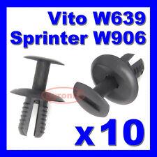MERCEDES VITO W639 SPRINTER W906 REAR DOOR TAILGATE PANEL TRIM CLIPS INTERIOR