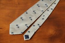 KENZO Authentic Men's 100% Silk Grey Tie Free Shipping Brand New Made in Italy