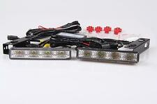 8W 8 Leds LED Tfl DRL Daytime Running Lights R87 Module E-Certified