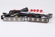 8W 8 LEDs LED TFL DRL Tagfahrlicht  R87 Modul E-Prüfzeichen TÜV FREI Fiat