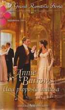 H12 Harlequin I Grandi Romanzi Storici 819 Una proposta inattesa Annie Burrows