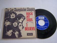 SP 2 TITRES VINYL 45T ,THE LES HUMPHRIES SINGERS , ROCK MY SOUL . VG + / VG ++ .